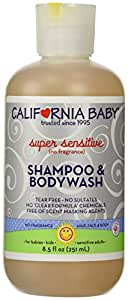 California Baby Super Sensitive Shampoo & Bodywash - 8.5 oz