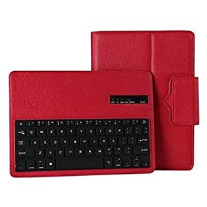 Detachable Bluetooth 3.0 Keyboard with PU Leather Case for iPad Air (Assorted Colors) , White