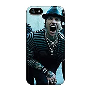 Protector Hard Cell-phone Cases For Apple Iphone 5/5s With Support Your Personal Customized High-definition Rise Against Skin Randolphfashion2010