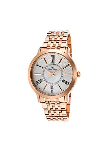 - Lucien Piccard Women's LP-40004-RG-22S Sofia Rose Gold-Tone Stainless Steel Watch