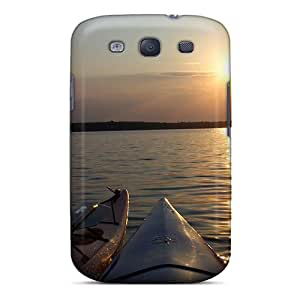 Perfect Fit DGwBJ18497gEdTy Pushaw Lake Orono Maine Case For Galaxy - S3