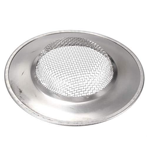 2 St/ück Edelstahl Badewanne Haar Catcher Dusche Drain Loch Filter Trap K/üche Metall Waschbecken Sieb 7,5 Cm Au/ßendurchmesser 4,5 Cm Innendurchmesser