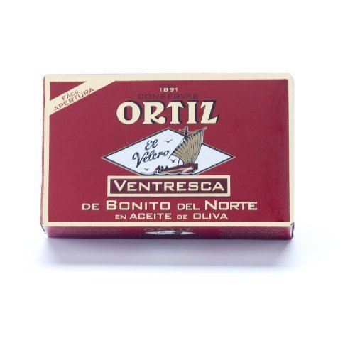 Ortiz Ventresca White Tuna Belly in Oil - 10 pack (112g each) by Ortiz
