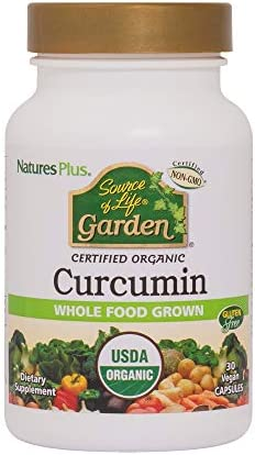 NaturesPlus Source of Life Garden Certified Organic Curcumin