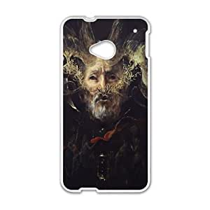 Behemoth HTC One M7 Cell Phone Case White Custom Made pp7gy_3333493