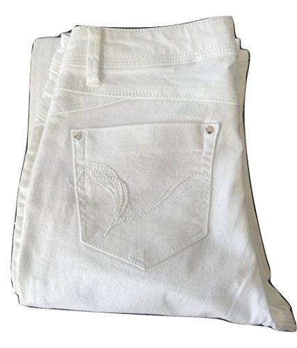 Eur 36 Pelovenew Jeans Donna Patrice Breal Marca Bianco Taglia Colore fqf1Tt