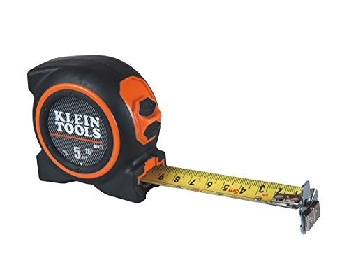 Klein Tools 86615 Tape Measure 5m with Magnetic Double Hook