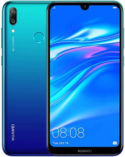 Huawei Y7 2019 Dub-LX3 32GB Unlocked GSM LTE Android Phone w/Dual 13MP+2MP Camera - Aurora Blue