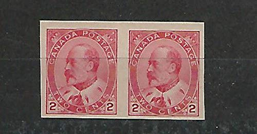 Canada, Postage Stamp, 90A Mint NH Pair, 1903, JFZ