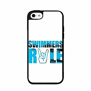 Swimmer's Rule Plastic Phone Case Back Cover iPhone 5c