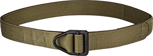 Uncle Mike's Law Enforcement 87672 Reinforced Instructor's Belt, Ranger Green, Medium/32-36-Inch