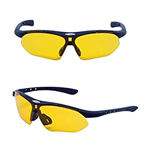 Polarized Sports Sunglasses for Running Cycling Baseball Fishing Driving 100% UV Protection Eye Protection Windproof Glasses Outdoor Sports (C)
