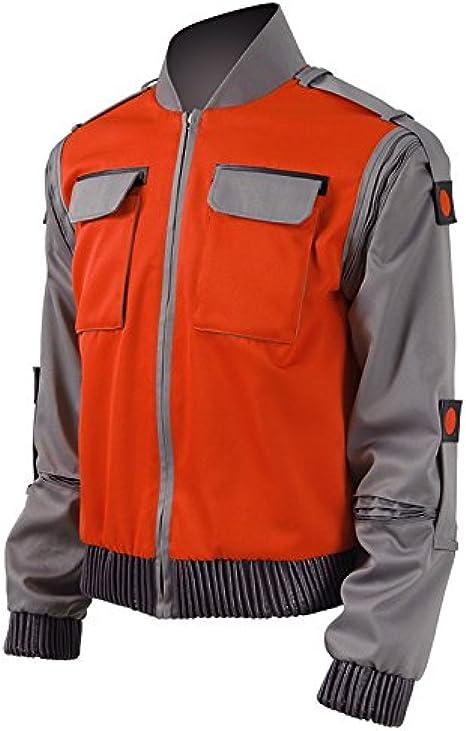 Back to the future Marty McFly Jr Marlene McFly Jacket Coat Cosplay Costume New