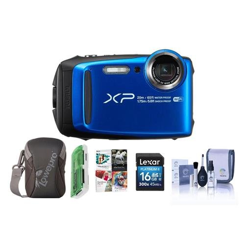 Fujifilm FinePix XP120 16.4MP Digital Camera, 5X Optical Zoo