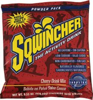 Sqwincher 016001-CH 9.53 oz Powder Concentrate Electrolyte Replacement Beverage Mix, 1 Gallon Yield, Cherry Flavor (Case of (Sqwincher Cherry)