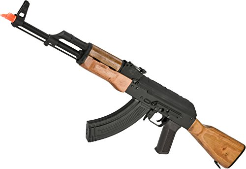 Evike - CYMA Full Metal CM048 AKM Airsoft AEG Rifle - Real Wood