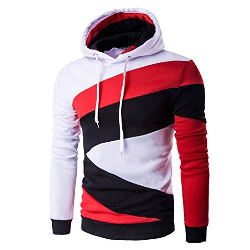 BeautyVan Men's Sweatshirt, Men Retro Fashion Men Retro Long Sleeve Hoodie Sweatshirt...
