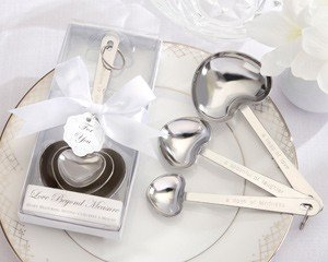 ''Love Beyond Measure'' Measuring Spoons [Set of 96] by Kate Aspen