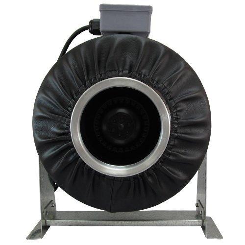8 Inline Exhaust Fan : Virtual sun quot inline exhaust duct fan cfm blower