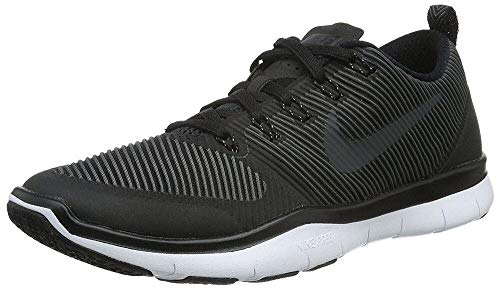 Nike Free Train Versatility Mens Training Shoe Running Sneakers 833258 (10 M US, Black/White/Black)