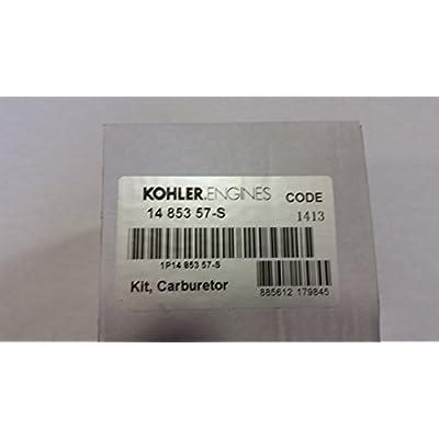 KOHLER 14 853 57-S COMPLETE CARBURETOR WITH GASKETS: Industrial & Scientific