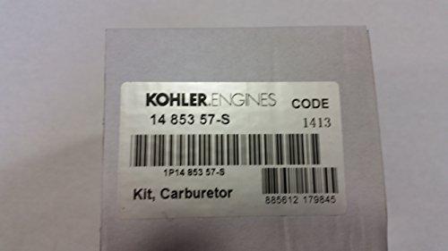 KOHLER 14 853 57-S COMPLETE CARBURETOR WITH GASKETS ()