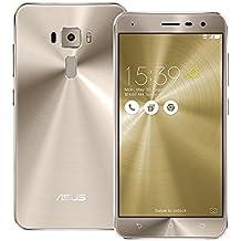 Asus ZenFone 3 ZE520KL Unlocked Dual Sim Phone, 32GB, 5.2-inch, 3GB RAM - GSM International Version (Shimmer Gold)