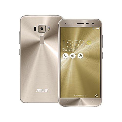 Asus ZenFone 3 ZE520KL Unlocked Dual Sim Phone, 32GB, 5.2-inch, 3GB RAM – GSM International Version (Shimmer Gold)