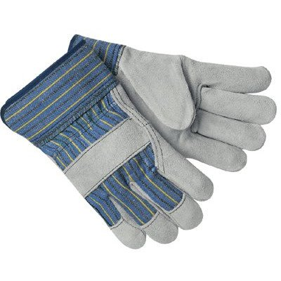 Memphis Glove 127-1400A Select Leather Palm Gloves, Large, Multicolor (Pack of 12) ()