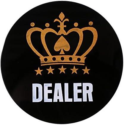 Hellery ポーカーチップ ポーカーガード カードプロテクター テキサスホールデム ポーカーガード 全3選択 - A