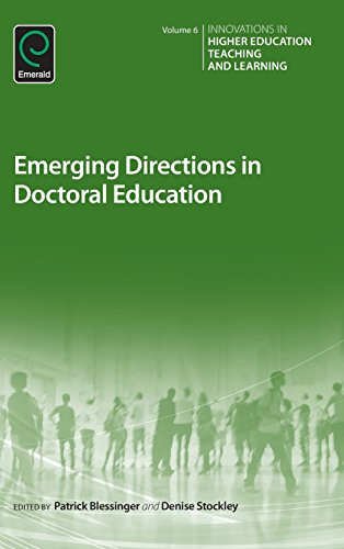 Emerging Directions in Doctoral Education (Innovations in Higher Education Teaching and Learning)