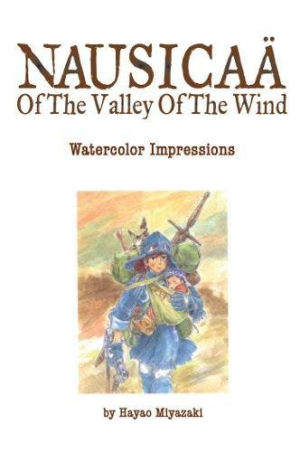 The Art of Nausicaa of the Valley of the Wind: Watercolor Impressions
