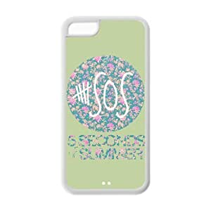 Accessories Custom Design 5 Seconds of Summer 5sos protection Cover Case For iPhone 6 4.7 [ 5 sos ] WANGJING JINDA