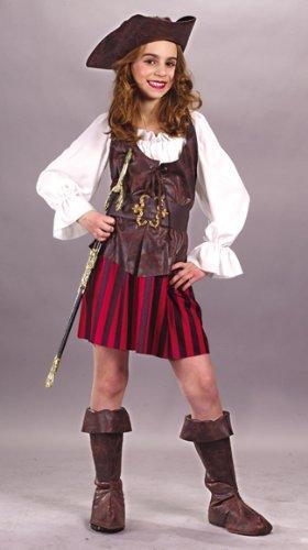 High Seas Buccaneer Grl Large Costume (Sassy Pirate Costume)