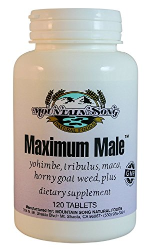 Maximum Male Formula with Horny Goat Weed, Yohimbe, Tribulus, and more. Increase Your Male Performance and Improve Stamina with Maca Root, Muira Puama and Ginseng. Extra Strength 120 Tablet Value size