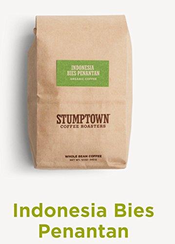 Stumptown Coffee Roasters Whole Beans, Indonesia Bies Penantan Sumatra, Sincere TRADE, ORGANIC 12 oz