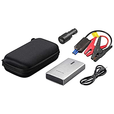 NEW Winplus Lithium Jump Starter Portable Power Bank with Brush Metal Finish.