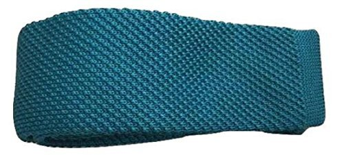 L Lake Skinny Seller Slim Men's Quality Knitted amp;C®High Woven Knit Tie Fashion UK Blue Tie OrOpq