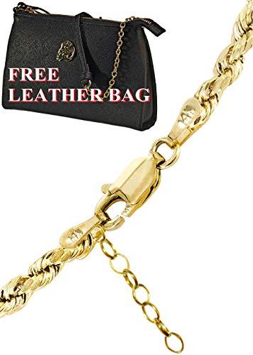 Customizable 14k Gold Rope -