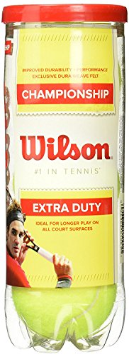 Wilson Championship Extra Duty Tennis Balls, 24 Cans by Wilson (Image #1)