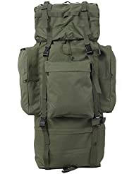 TaoRong 100L Military MOLLE Backpack Hiking Camping Backpack Tactical Combat Backpack Trekking Rucksack Internal...