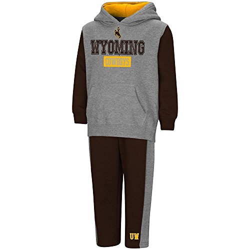 Toddler Wyoming Cowboys Pull-over Hoodie and Sweatpants Set - 2T