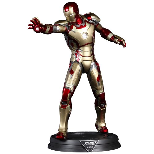 Power Pose - Iron Man 3 : Iron Man Mark 42 (Plastic Figure) by Hot Toys (Iii Iron Mark)