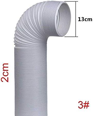 Proglam - Tubo flexible de evacuación de 1,5/2 m para aparatos de aire acondicionado, 130/150 mm: Amazon.es: Hogar