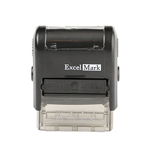 CONTROLLED COPY Self Inking Rubber Stamp - Red Ink (ExcelMark A1539) Photo #4