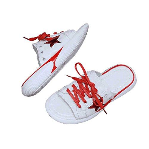 Scarpe Donna Abbigliamento 4 Pantofole Sportive Estate 5 Sandali Moda dimensioni wH5nX7q
