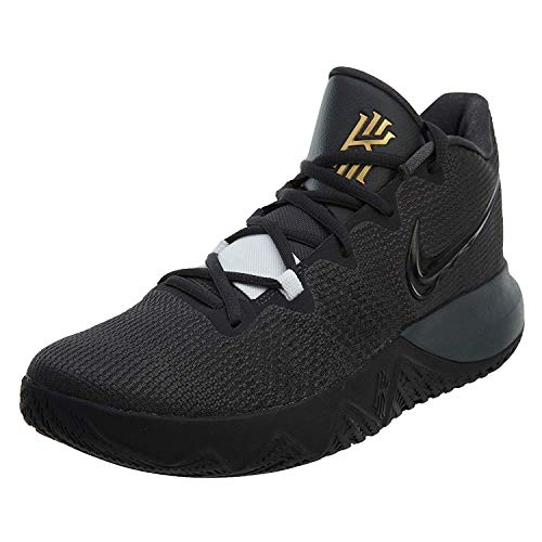 - Nike Mens Kyrie Flytrap Basketball High Top Sneakers (12, Anthracite/Black/Metallic Gold)