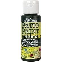DecoArt Patio Paint, 2-Ounce, Pine Green