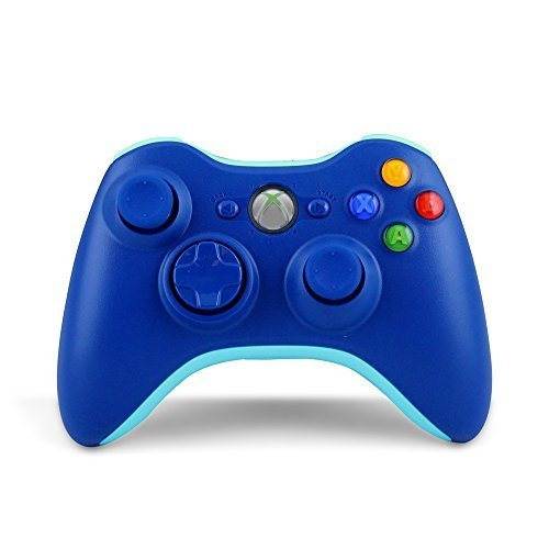 Xbox 360 Wireless Controller (Bulk Packaging) (Call of Duty: Blue)