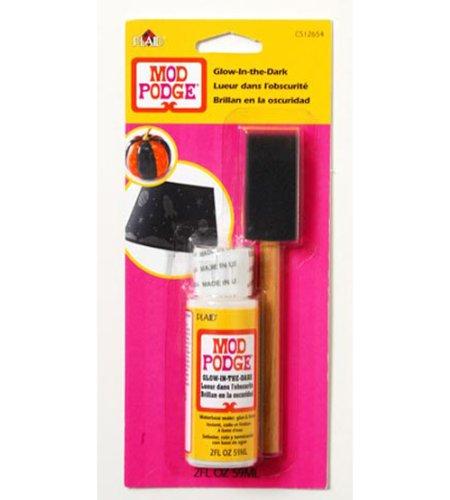 Mod Podge Waterbase Sealer, Glue and Finish Set with Brush (2-Ounce), CS12654 -